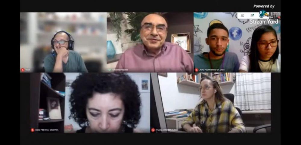 Participação de professores da UFMA e alunos na Live com Sebastião Madeira