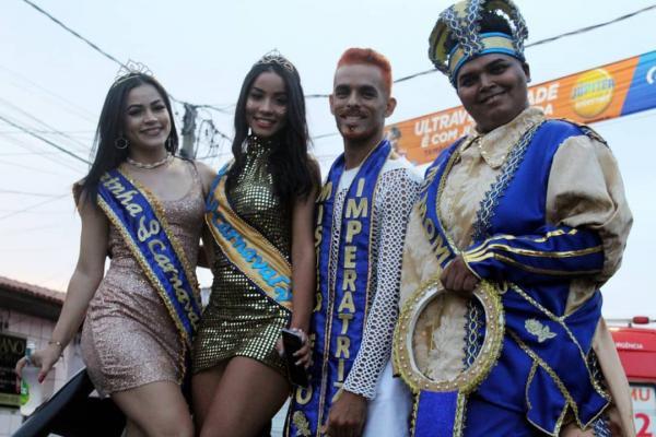 Confira as imagens do Sábado de Carnaval em Imperatriz