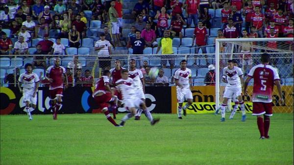 Imperatriz 0 x 0 Vitória em jogo válido pela Copa do Brasil