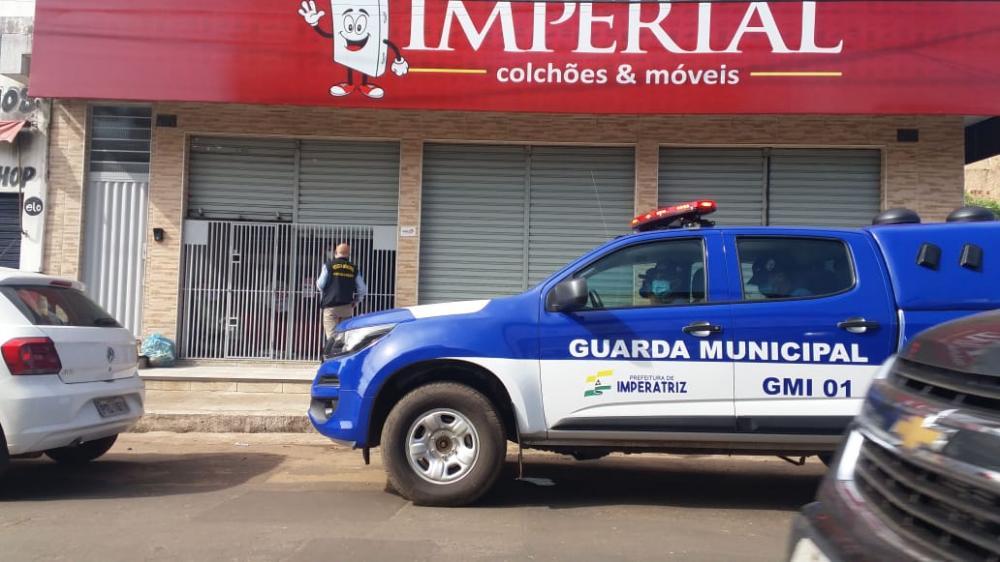 Além do centro da cidade, a GMI e os fiscais da Sefazgo, atuaram também nos bairros Nova Imperatriz, Mercadinho e Bacuri (Foto: Divulgação)