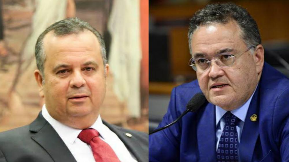 Ministro Rogério Marinho e o Senador Roberto Rocha (Foto: Divulgação)