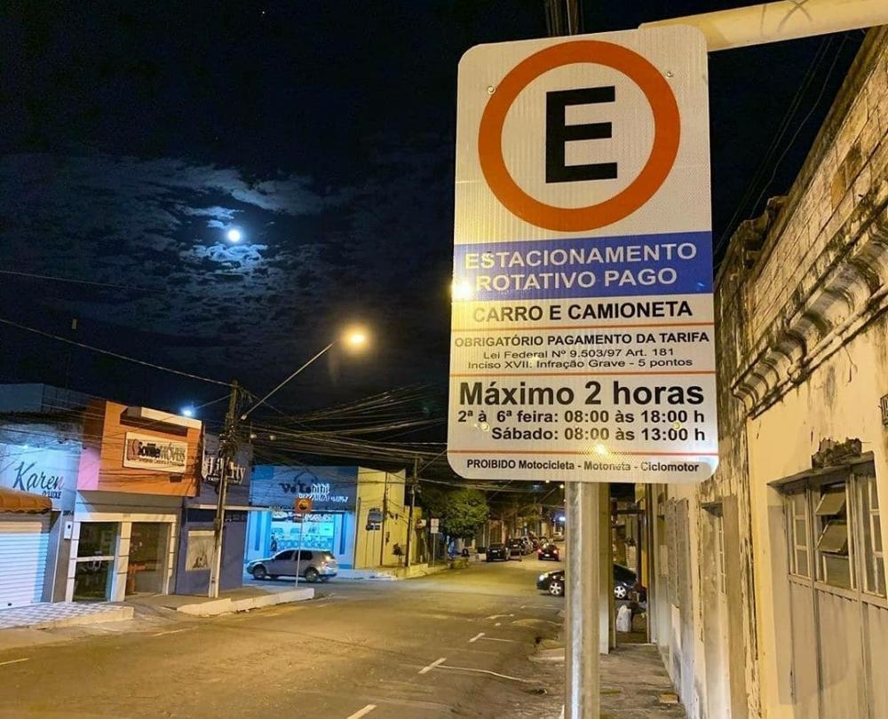 Prefeitura começa a implantação da Zona Azul (Foto: Divulgação)