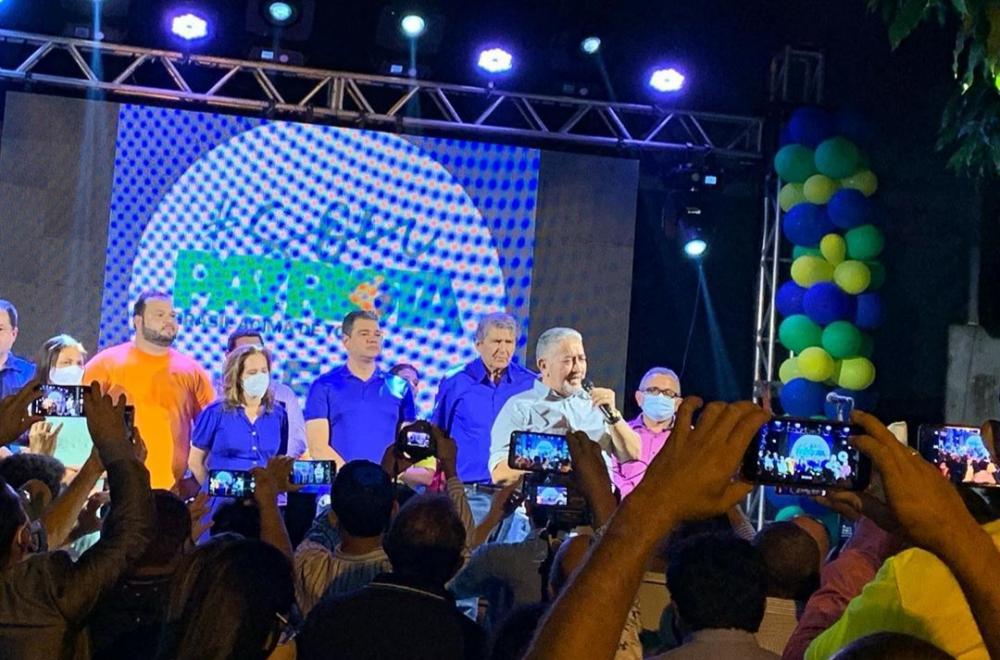 Patriotas e Avante celebraram na noite desta terça-feira (15), a convenção partidária que definiu os candidatos a vereadores das duas siglas (Foto: Divulgação)