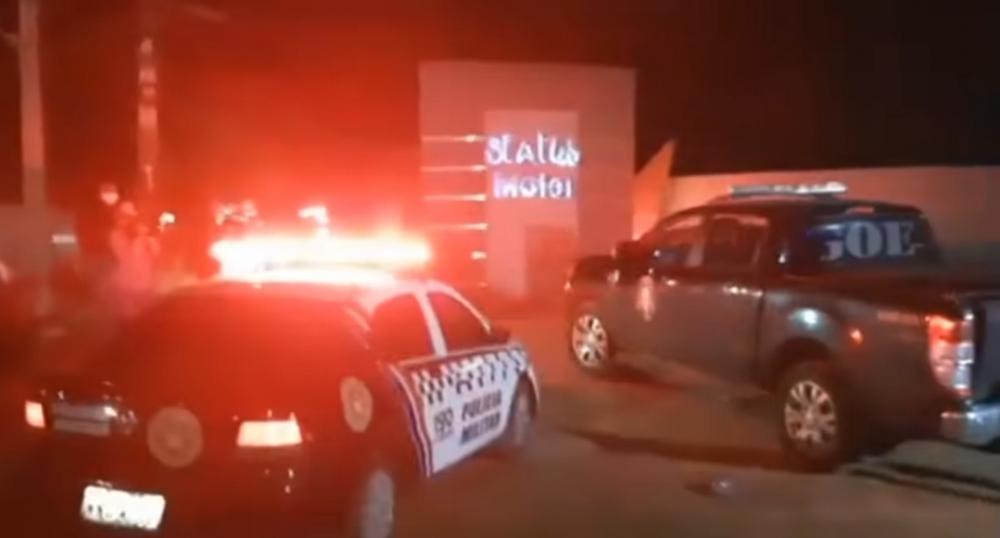 Homem faz mulher refém em motel na BR-010 (Foto: Divulgação/Redes Sociais)