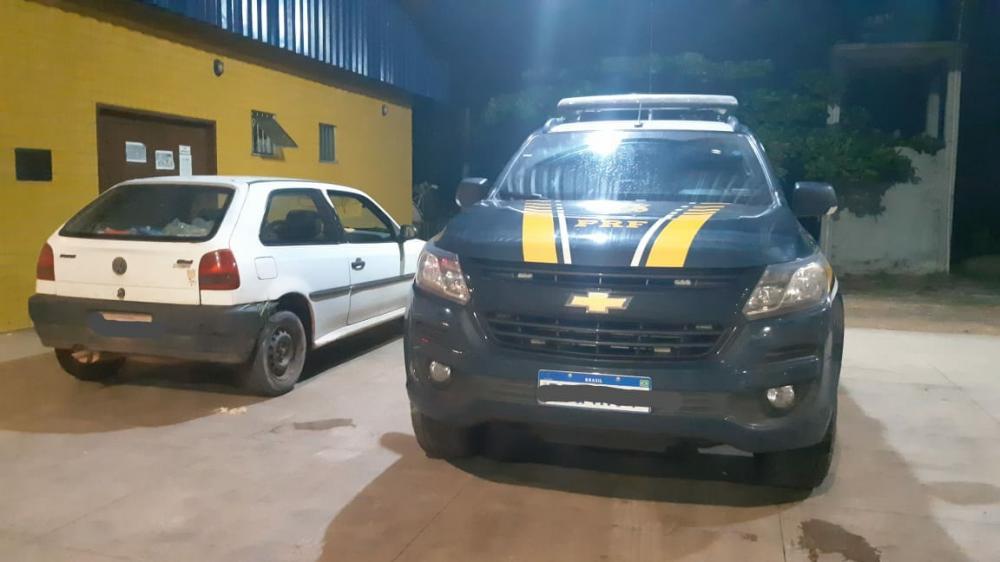 Homem embriagado é preso pela PRF fazendo manobras perigosas na BR-010 (Foto: Divulgação/PRF)