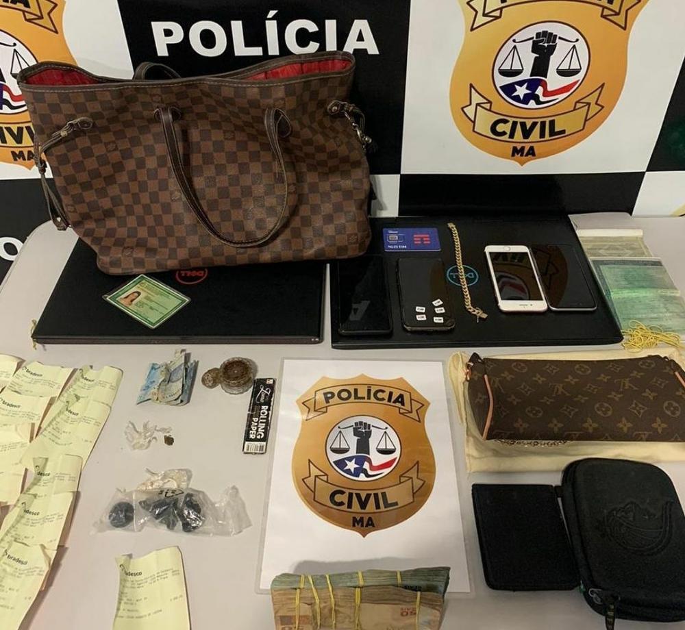 Hacker que estava foragido foi preso em São Luís (Foto: Divulgação/Polícia Civil)