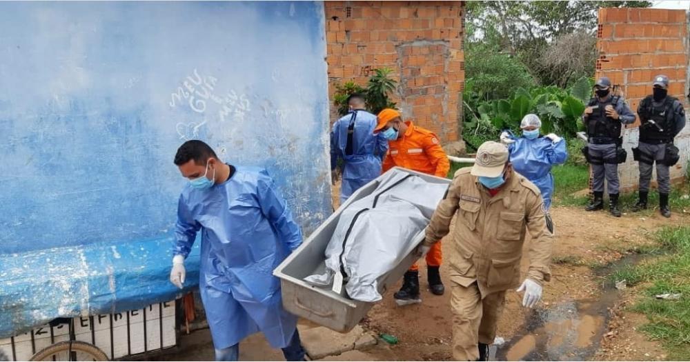 Corpo sem cabeça é encontrado enterrado em uma casa abandona (Foto: Divulgação/Instagram)