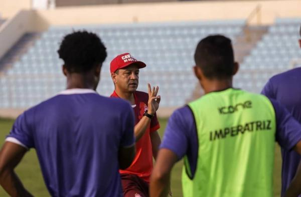 Time do Imperatriz deve vir com esquema tático 4-2-2 contra o Juventude (Foto: Divulgação/Johan)