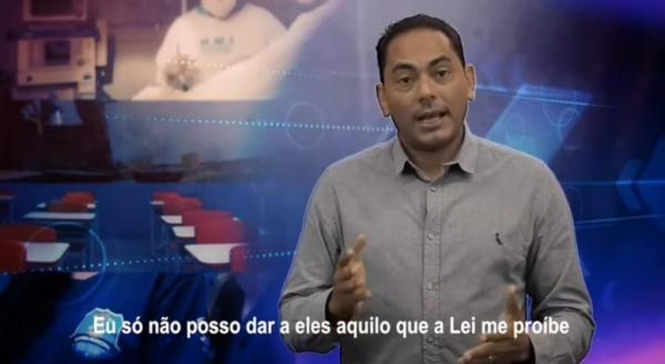 Prefeito Assis Ramos mente em vídeo que circula nas redes sociais sobre o FUNDEF (Foto: Divulgação)